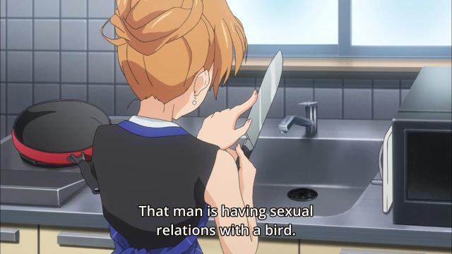 Calm down Kouko, you aren't yourself