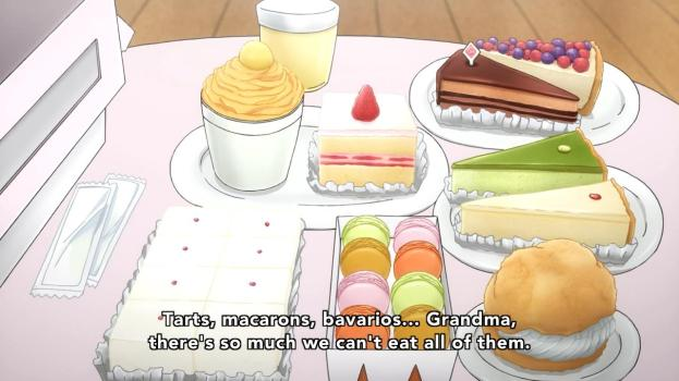 I take it back. This show has macarons. It's totally the same as Black Rock Shooter