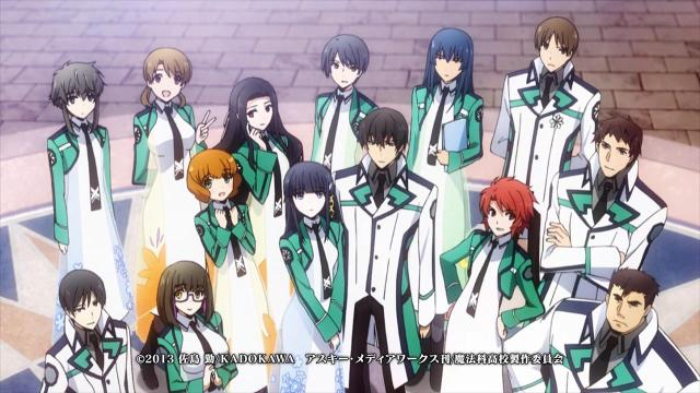 Cast [HorribleSubs] Mahouka - 01 [720p]