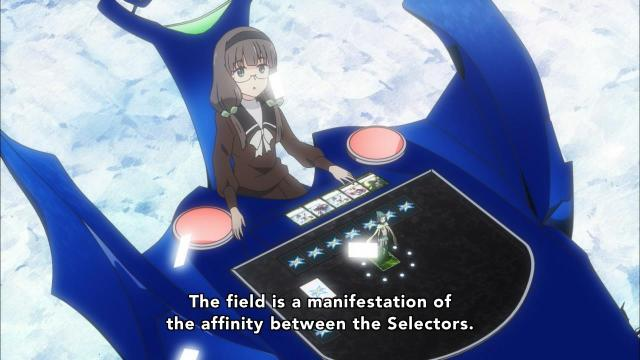 Selector Infected WIXOSS episode 03, 05