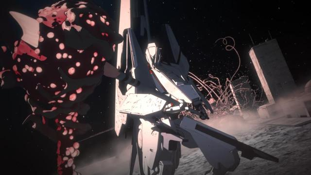Type-17 Mech [Underwater] Knights of Sidonia - 01 (720p) [3844F8E2]