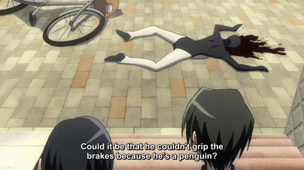 The sad existence of a penguin