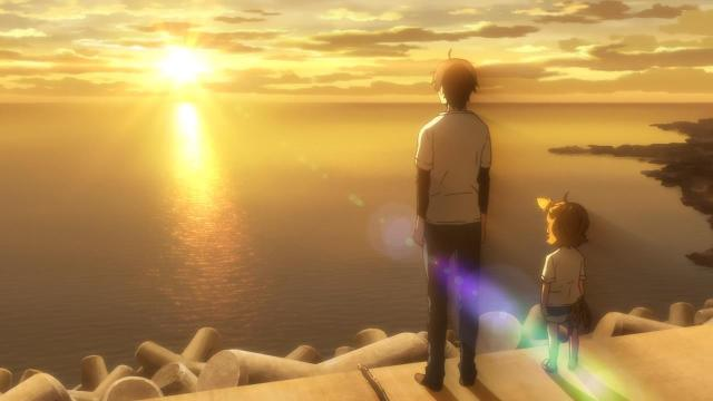 barakamon sunset