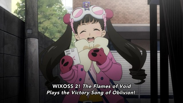 "Arguably a better title than ""Selector Spread WIXOSS""."