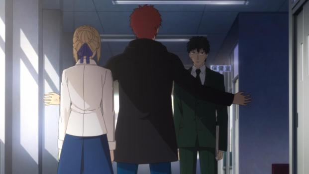 You've got it backwards Shirou. She protects you.