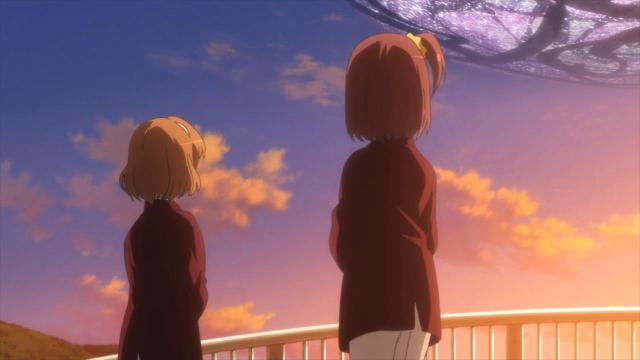 nonoka yuzuki sunset