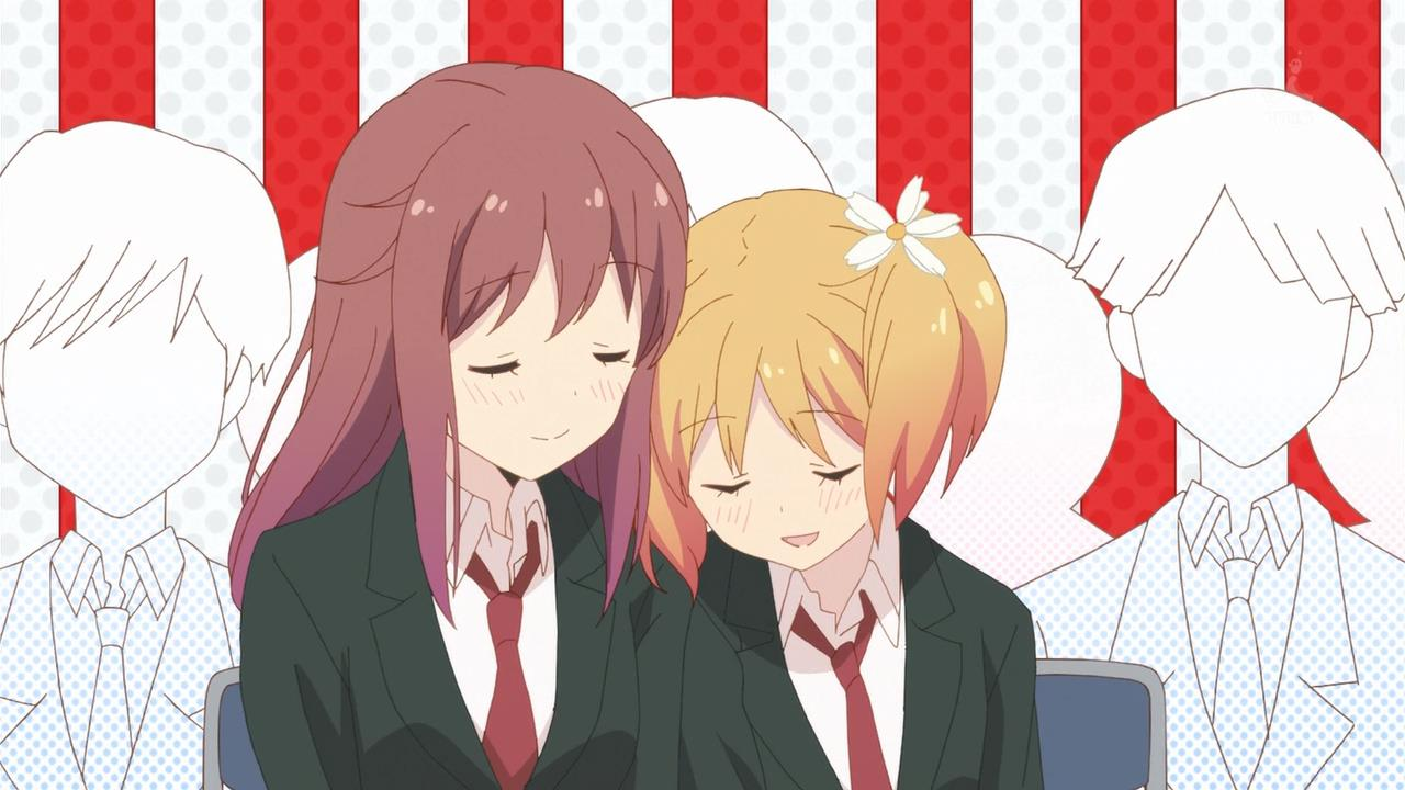 Anime Cute Lesbians twelve days of anime #4: physics-defying lesbians | pedantic