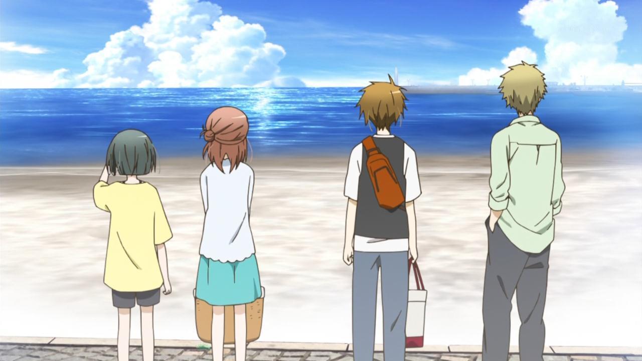 Twelve Days Of Anime 4 A Rare Non Fanservicey Beach Episode Of