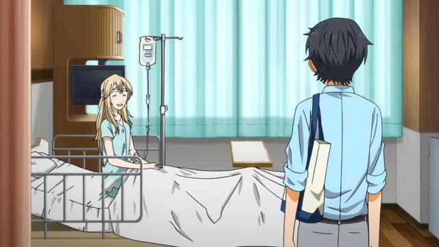 kaori hospital room